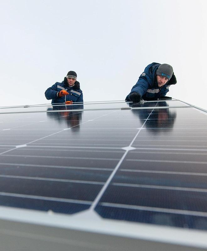 Устанавливаем солнечные электростанции под ключ